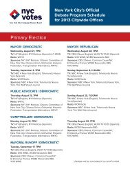 Debate Schedules for Mayoral Candidates - CWA Local 1180