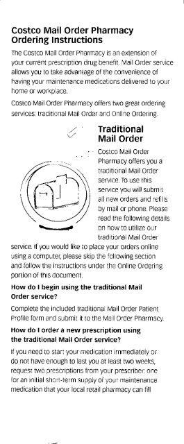 Mail Order - CWA Local 1180