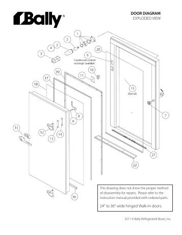 Bally Refrigerator Wiring Diagram on