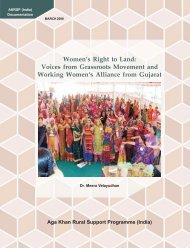 Women s Right to Land: Voices from Grassroots Movement ... - Bridge