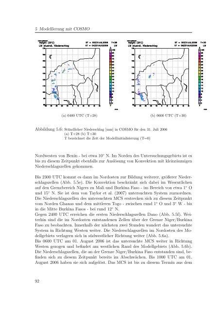 Mesoskalige konvektive Systeme während des ... - IMK-TRO