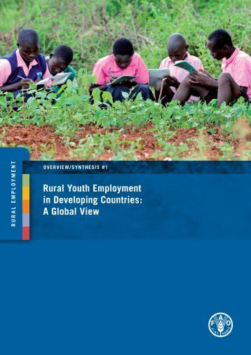 Rural Youth Employment in Developing Countries: A Global ... - FAO