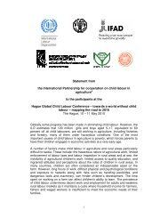 Statement from the International Partnership for cooperation on child ...