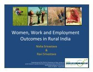 SRIVASTAVA Nisha - Food, Agriculture & Decent Work