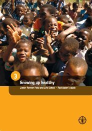 3. Growing up healthy - Food, Agriculture & Decent Work