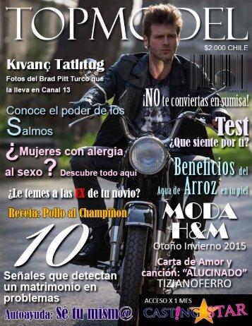 Revista TOPMODEL Edición Enero 2015