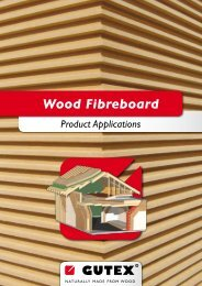 Wood Fibreboard Product Applications - Ecobuild