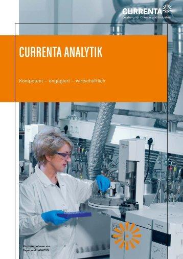 CURRENTA ANALYTIK - Analytics