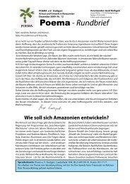 POEMA Deutschland Rundbrief Nr.12