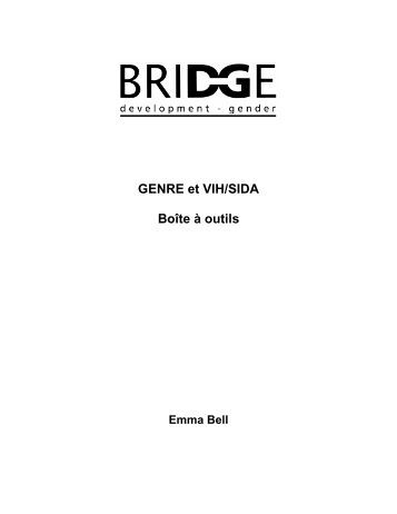 Genre et VIH/sida - Bridge - Institute of Development Studies