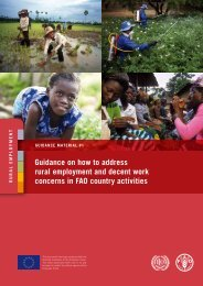 Guidance on how to address rural employment and decent work ...