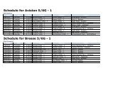 Schedule for Breese 5/6G - 1