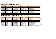 Schedule for Germantown 3/4B - 1