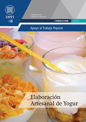 Elaboración Artesanal de Yogur - INTI
