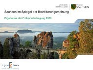 Sachsen im Spiegel der Bevölkerungsmeinung [Download,*.pdf, 0 ...