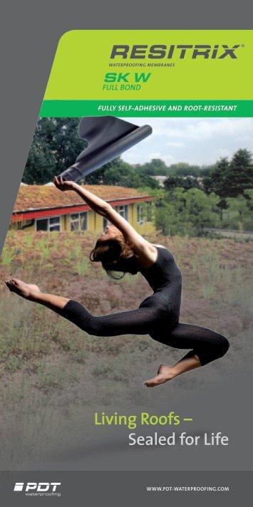 "Brochure - RESITRIX ""Living Roofs - Sealed for Life"" - Ecobuild"