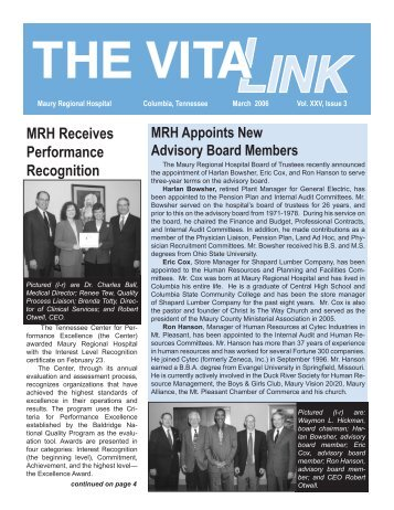 MRH VitaLink March Draft Final 1.indd - Maury Regional Healthcare ...