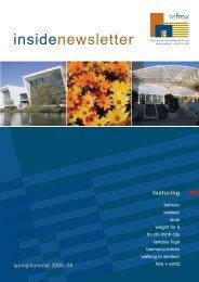 insidenewsletter - Tertiary Education Facilities Management ...
