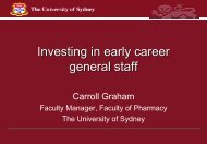 Investing in early career general staff - Tertiary Education Facilities ...
