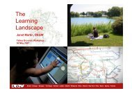 The Learning Landscape - Tertiary Education Facilities ...
