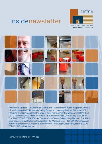 insidenewsletter - Tertiary Education Facilities Management ...
