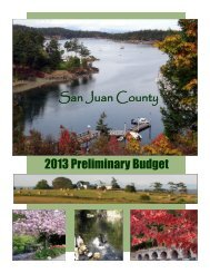 Section 1 - Budget Overview and Summary - San Juan County
