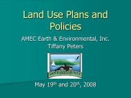 Land Use Plans and Policies - San Juan County