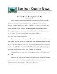 San Juan County News