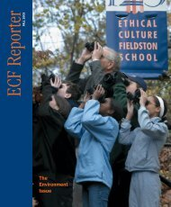 The Environment Issue - Ethical Culture Fieldston School