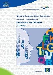 Glosario Europeo sobre Educación - the Agro-MAC VET