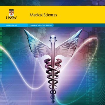 Medical Sciences - UNSW Science - University of New South Wales