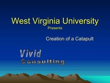 catapults - West Virginia University