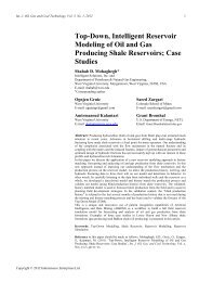 Top-Down, Intelligent Reservoir Modeling of Oil and Gas Producing ...