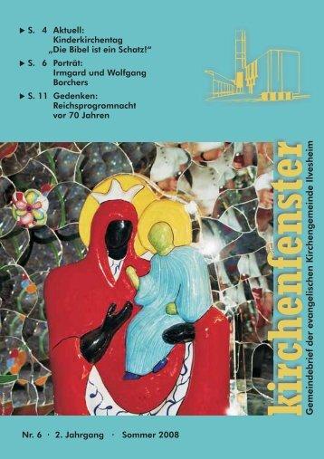 kirchenfenster - Evangelische Kirchengemeinde Ilvesheim