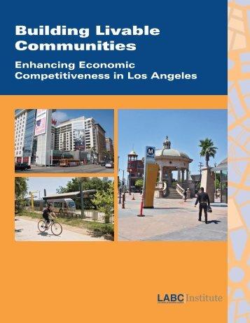 Building Livable Communities - Los Angeles Business Council