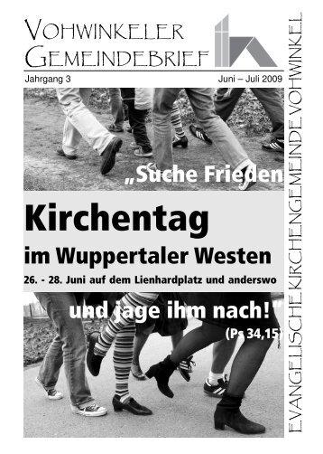 Gut zur Linden - Evangelische Kirchengemeinde Vohwinkel