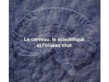 La méthode scientifique (1) - CRN2M