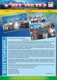 August 2011(volume 3 Issue 2) - Sri Sairam Institute of Technology