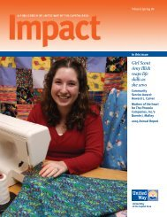 Winter/Spring 2006 - United Way of Central and Northeastern ...