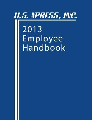2013 Office Handbook_Web.pdf - US Xpress