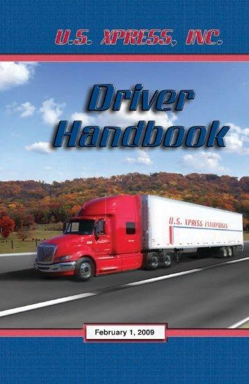 USX Driver Handbook.pdf - US Xpress