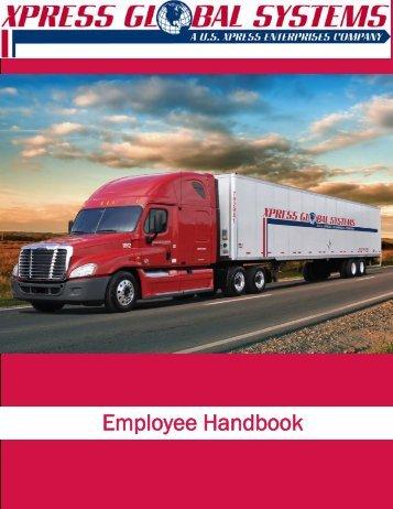 XGS Employee Handbook.pdf - US Xpress