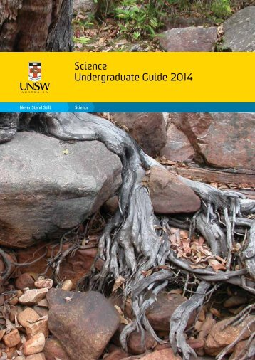 Undergrad Guide 2014 - UNSW Science - University of New South ...