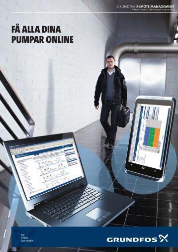 Broschyr: FÃ¥ alla dina pumpar online - Grundfos AB
