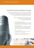 Prefabricerade pumpstationer - Grundfos AB - Page 2