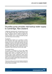 Grundfos pump provides vital backup water supply to Cambridge ...