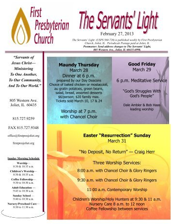 """February 27, 2013 Easter """"Resurrection"""" Sunday March 31 - First ..."""