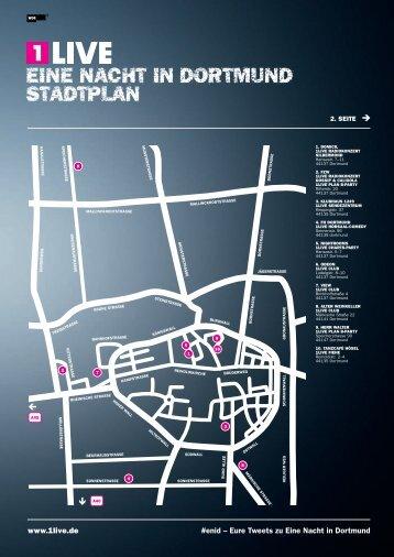 EINE NaCHT IN Dortmund Stadtplan - 1Live