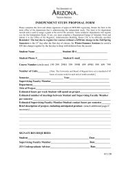 independent study proposal form - The Arizona Center for Judaic ...