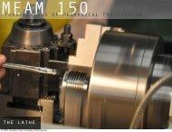 Fundamentals of Mechanical Prototyping the lathe - University of ...